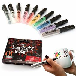 Permanent Paint Paint Pens, Markers Daubers Markers for Glas