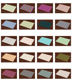Ambesonne Place Mats Group of 4 Daily Use Placemats Dining R
