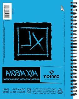 Canson Series Mix Media Pad Side Wire Bound NOTEBOOK,60 Shee