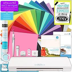 Silhouette Cameo 3 Bluetooth Touch Screen Bundle 24 Oracal 6