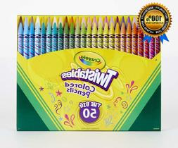 Crayola Twistables Colored Pencil Set, Art Supplies, Gift fo