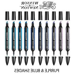 Winsor & Newton ProMarker Twin-Tip Graphic Marker Pens - PUR