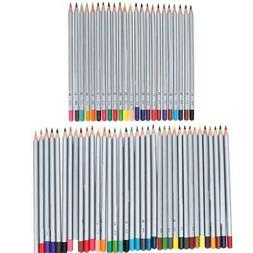 Wooden Colored Pencils Kit Artist Student Drawing Painting P