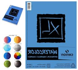 """Canson XL Series 30-Sheets Watercolor Textured Paper Pad 9"""""""